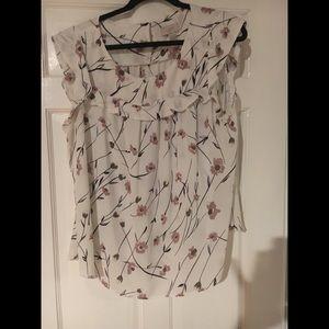 Loft Factory flutter sleeve shirt XL